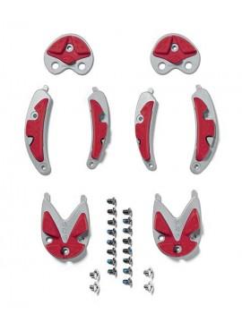 Sidi Nr. 43 Ersatzsohle rot f. Mtb Dragon 3, Spider CC