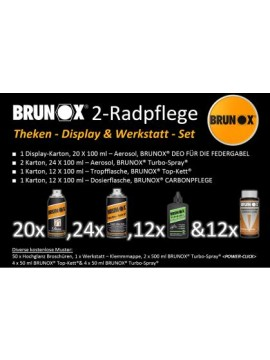 Brunox Theken-Display & Werkstatt-Set