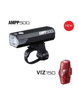 Cateye 8901220 AMPP500&VIZ150 Set