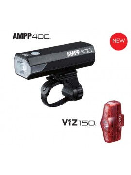Cateye 8901210 AMPP400&VIZ150 Set