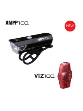 Cateye 8900010 AMPP100&VIZ100 Set