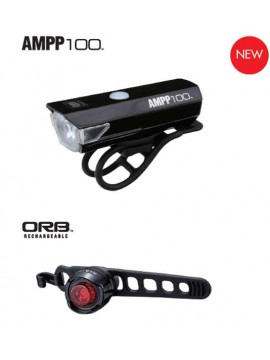 Cateye 8900000 AMPP100&ORB USB Set